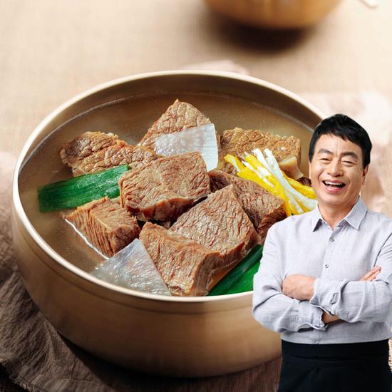김하진 뼈없는 궁중 소갈비탕 600g*10팩